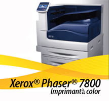 Infotec - Xerox Phaser 7800 - imprimanta color